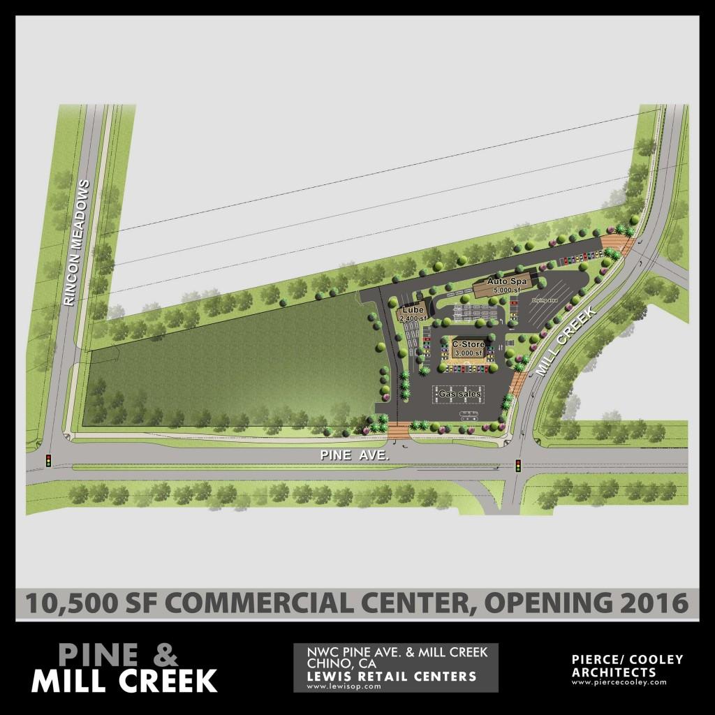 Mill Creek Town Center: 12_Siteplan_Pine & Mill Creek